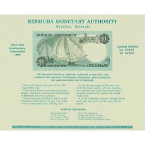 Bermuda PCARD(U) Bermuda ANA 94Th Anniversary Convention Card 1985