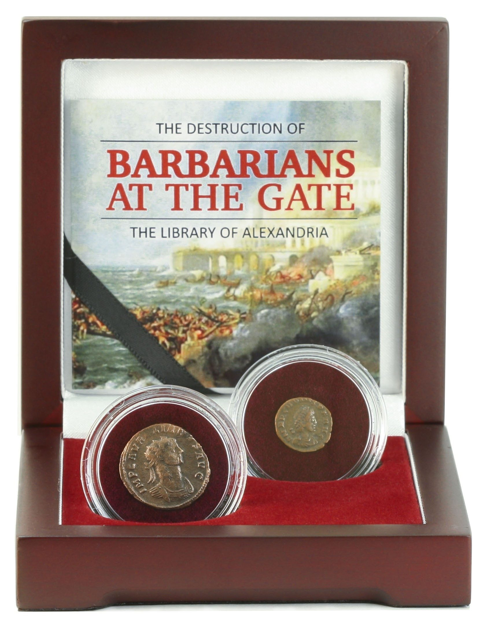Barbarians at the Gate: The Destruction of the Library of Alexandria