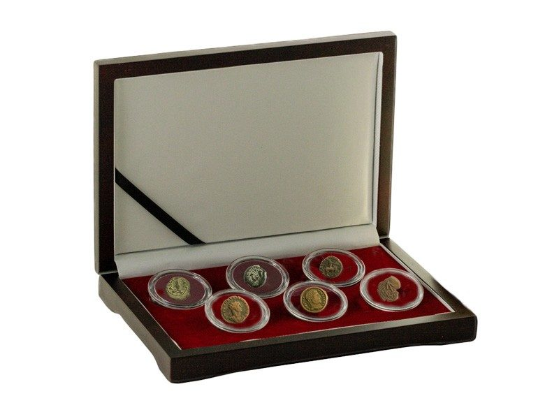 First Days of Christmas: Box of 6 Ancient Coins Pertaining to the Nativity of Jesus Christ