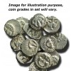 Ancient Greece: Apollonia, Silver Drachm with Medusa Portrait Box